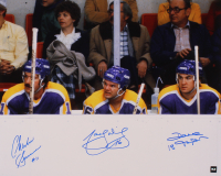 Marcel Dionne, Dave Taylor, & Charlie Simmer Signed Kings 16x20 Photo (COJO COA) at PristineAuction.com