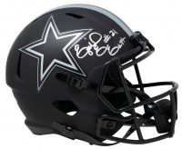 Ezekiel Elliot Signed Cowboys Eclipse Alternate Speed Full-Size Helmet (Beckett COA) at PristineAuction.com