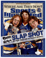"Jeff Carlson, Steve Carlson & David Hanson Signed ""Slap Shot"" 8x10 Photo (JSA COA) at PristineAuction.com"