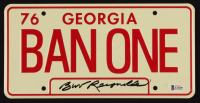 "Burt Reynolds Signed ""Smokey & The Bandit"" 6x12 License Plate (Beckett COA) at PristineAuction.com"