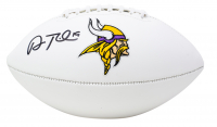 Adam Thielen Signed Vikings Logo Football (Beckett COA) at PristineAuction.com