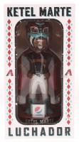 "Ketel Marte Diamondbacks Luchador 7"" Ceramic Bobblehead Figurine at PristineAuction.com"