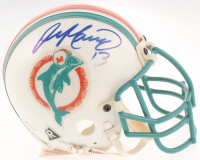 Dan Marino Signed Dolphins Throwback Mini Helmet (NSD LOA) at PristineAuction.com