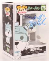 "Rob Paulsen Signed ""Rick & Morty"" Snowball #178 Funko POP! Vinyl Figure Inscribed ""Snowball"" (JSA COA) at PristineAuction.com"