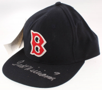 Ted Williams Signed Red Sox Fitted Baseball Hat (PSA LOA) at PristineAuction.com