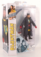 "Kevin Smith Signed ""Jay & Silent Bob Strike Back"" Bluntman Deluxe Action Figure with Base & Accessories (JSA COA) at PristineAuction.com"