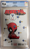 "2013 ""Deadpool"" Issue #1 Skottie Young Variant Marvel Comic Book (CGC 9.6) at PristineAuction.com"