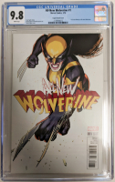 "2016 ""All-New Wolverine"" Issue #1 David Lopez Variant Marvel Comic Book (CGC 9.8) at PristineAuction.com"