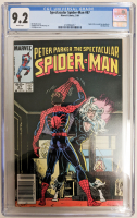 "1984 ""Spectacular Spider-Man"" Issue #87 Marvel Comic Book (CGC 9.2) at PristineAuction.com"