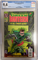"1994 ""Green Lantern"" Issue #50 DC Comic Book (CGC 9.4) at PristineAuction.com"