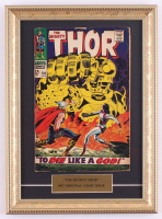 "Vintage 1967 ""Thor"" Marvel 11x15 Custom Framed Comic Book Display at PristineAuction.com"