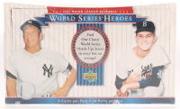 Unopened 2002 Upper Deck World Series Heroes Baseball Hobby Box of (24) Cards at PristineAuction.com