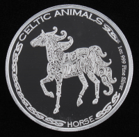 "1 Troy Oz .999 Fine Silver ""Celtic Animals"" Bullion Coin at PristineAuction.com"