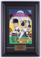 "Nolan Ryan Signed 1991 ""Baseball Superstars"" Issue #1 11x17 Custom Framed Comic Book Display (PSA COA) at PristineAuction.com"