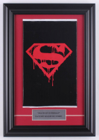 """1992 """"Superman"""" Issue #75 DC 11x17 Custom Framed Comic Book Display at PristineAuction.com"""