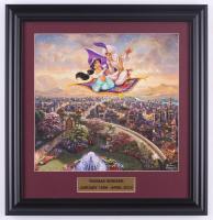 "Thomas Kinkade ""Aladdin"" 18x19 Custom Framed Print Display at PristineAuction.com"