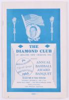 Vintage 1965 The Diamond Club Annual Baseball Award Banquet Program at PristineAuction.com