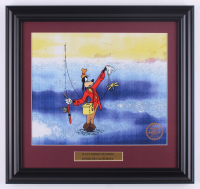 "Walt Disney's ""Goofy"" 15.5x16.5 Custom Framed Hand-Painted Animation Serigraph Display at PristineAuction.com"