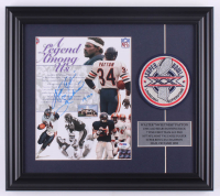 "Walter Payton Signed Bears 14.5x16.5 Custom Framed Photo Display Inscribed ""16,726"" & ""Sweetness"" with Super Bowl XX Champions Patch (PSA LOA) at PristineAuction.com"