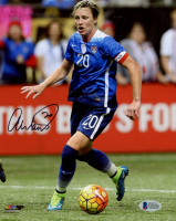 Abby Wambach Signed Team USA 8x10 Photo (Beckett COA) at PristineAuction.com