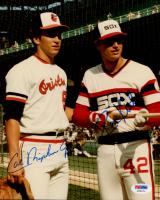 Cal Ripken Jr. & Ron Kittle Signed 8x10 Photo (PSA COA) at PristineAuction.com