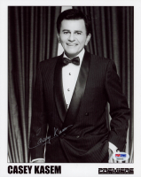 "Casey Kasem Signed ""Top 40"" 8x10 Photo (PSA COA) at PristineAuction.com"
