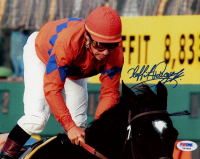 Laffit Pincay Jr. Signed 8x10 Photo (PSA COA) at PristineAuction.com