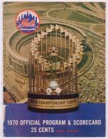 Vintage 1970 Mets Official Program & Scorecard at PristineAuction.com