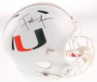 Frank Gore Signed Miami Hurricanes Full-Size Speed Helmet (JSA COA) at PristineAuction.com