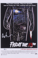 """Ari Lehman Signed """"Friday The 13th"""" 11x17 Movie Poster (Beckett COA) at PristineAuction.com"""