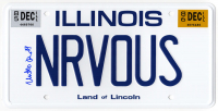 "Matthew Broderick Signed ""Ferris Bueller's Day Off"" NRVOUS License Plate (Schwartz COA) at PristineAuction.com"