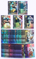 Complete Set of (180) 1995 Bowman's Best Refractor Football Cards with #V10 Barry Sanders, #V47 Dan Marino, #V85 Jerry Rice, #V8 Troy Aikman, #V37 Emmitt Smith at PristineAuction.com
