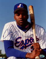 Cliff Floyd Signed Expos 8x10 Photo (PSA COA) at PristineAuction.com