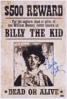 "Emilio Estevez Signed ""Young Guns"" 12x18 Wanted Poster (Schwartz Sports COA) at PristineAuction.com"