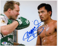 Manny Pacquiao Signed 8x10 Photo (PSA Hologram) at PristineAuction.com