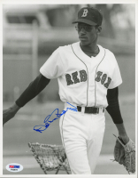 Oil Can Boyd Signed Red Sox 8x10 Photo (PSA COA) at PristineAuction.com