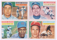 Near Complete Set (334/340) 1956 Topps Baseball Cards with #33 Roberto Clemente, #135 Mickey Mantle, #31 Hank Aaron, #130 Willie Mays at PristineAuction.com