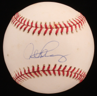 Alex Rodriguez Signed OML Baseball (MLB Hologram & Mounted Memories Hologram) at PristineAuction.com