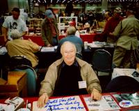 "Dutch Van Kirk Signed WWII 8x10 Photo Insried ""Navigator - Enola Gay"" & ""Hiroshima - 6 Aug 1945"" (PSA COA) at PristineAuction.com"