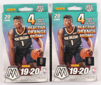 Lot of (2) 2019-20 Panini Mosaic Basketball Hanger Box of (20) Cards Each at PristineAuction.com