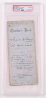 Frederick Douglass Signed Document (PSA Enapsulated) at PristineAuction.com