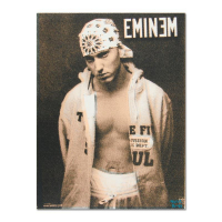 """Ringo Signed """"Eminem"""" 12x16 One-of-a-Kind Hand Pulled Silkscreen on Canvas at PristineAuction.com"""