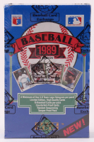 1989 Upper Deck Baseball Low # Wax Box (BBCE Certified) at PristineAuction.com