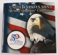 "United States Mint ""50 State Quarters Collection"" with (40) Massachusetts State Quarters with Original Packaging at PristineAuction.com"