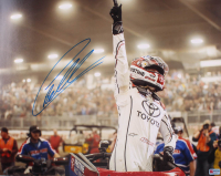 Christopher Bell Signed 2020 Chili Bowl 15.75x20 Photo (PA COA) at PristineAuction.com