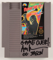 "Ari Lehman Signed Original 1989 ""Friday the 13th"" Nintendo NES Video Game Cartridge Inscribed ""Game Over!"" (PA COA) at PristineAuction.com"