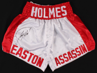 """Larry Holmes Signed """"Easton Assassin"""" Boxing Trunks (PSA COA) at PristineAuction.com"""