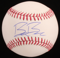 Beau Burrows Signed OML Baseball (Beckett COA) at PristineAuction.com