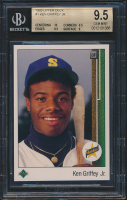 Ken Griffey Jr. 1989 Upper Deck #1 RC (BGS 9.5) at PristineAuction.com