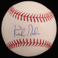 Kirk Gibson Signed OML Baseball (Beckett COA) at PristineAuction.com